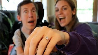 I asked Hannah to marry me!