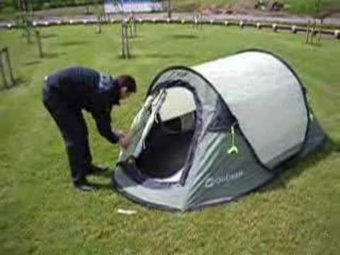 Pop Up Tent Video
