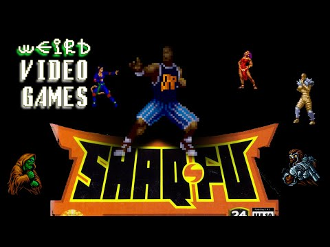 Weird Video Games - Shaq Fu