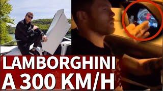 Canelo se graba con su Lamborghini a 300km/h por Mónaco  Diario As