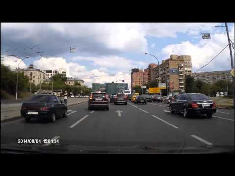 Авария в Москве 04 08 2014