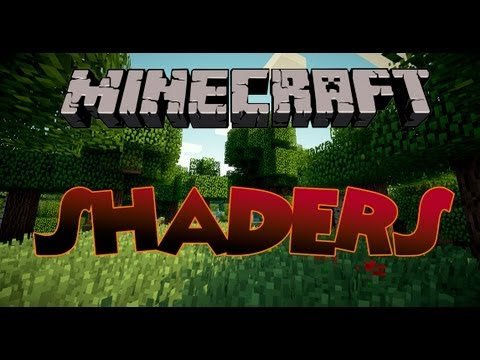 Minecraft 1.6.2 - Como instalar GLSL Shaders MOD - HD