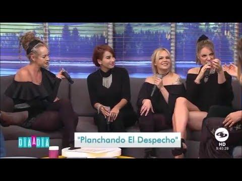 Majida Issa, Yolanda Rayo, Carolina Sabino y Laura Mayolo en