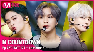 Download lagu [NCT 127 - Lemonade] Comeback Stage | #엠카운트다운 EP.727 | Mnet 210930 방송