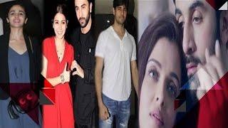 Stars Spotted At ADHM Screening | Ranbir's Fan Boy Moment With Aishwarya