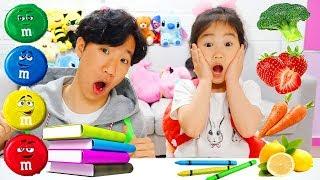 보람이와 또치의 타요칠판 장난감 학교놀이 Boram and Ddochi Go To School