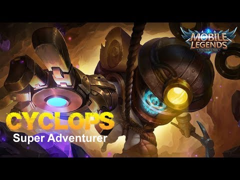 Mobile Legends - Cyclops New Skin Super Adventurer First Look at Next Update