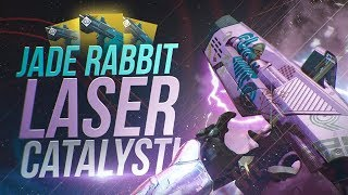 Jade Rabit Laser-Like Catalyst! Destiny 2 Exotic Catalyst Review!