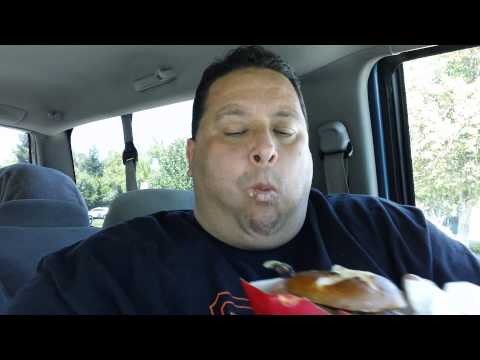 Wendy's Pretzel Burger Review!!