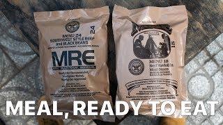 """Ăn thử MRE - """"lương khô"""" của lính Mỹ"""
