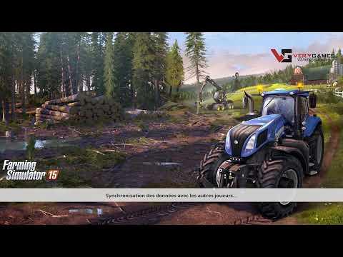 Farming simulator 15 On coupe du bois - Découverte -