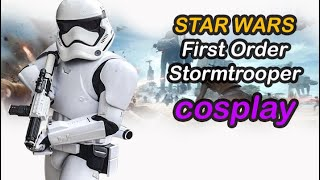 Star Wars Cosplay: First Order Stormtrooper