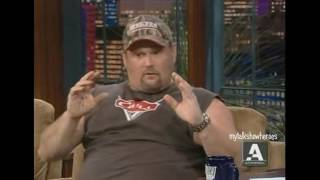 LARRY THE CABLE GUY - LOL COMEDY on 'LENO'