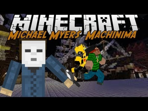 ''The Story Of Michael Myers In Minecraft'' - Minecraft Machinima