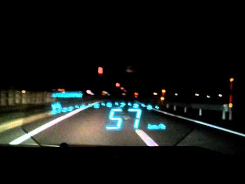 CAR HUD Defi-link VSD X HEAD UP DISPLAY ヘッドアップディスプレイ