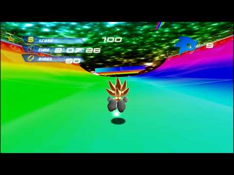 Blitz Sonic - Rainbow Road Stage