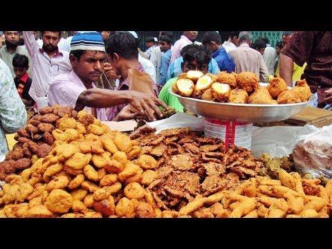 Iftar Ramadan 2018 Bangladesh Old Dhaka ইফতারী চক বাজার 1439 Chowk Bazaar
