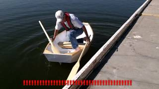 Launching the Micro Auray Punt I built