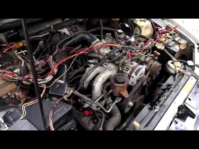 Syncro Subaru engine conversion