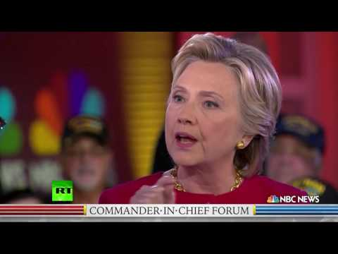 'You clearly corrupted our national security' – US veteran to Hillary Clinton