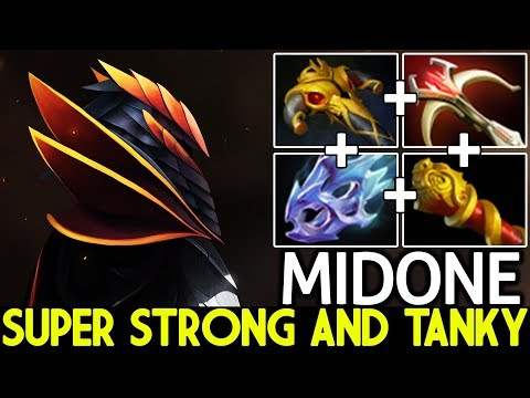 Midone [Dragon Knight] Super Strong and Tanky Pro Gameplay 7.21 Dota 2