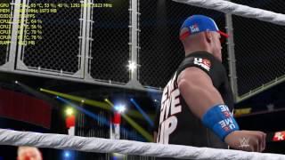 WWE 2K17 Gameplay GTX 1060 3GB