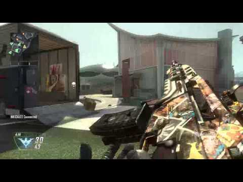 Nuketown machine gun feed killchain