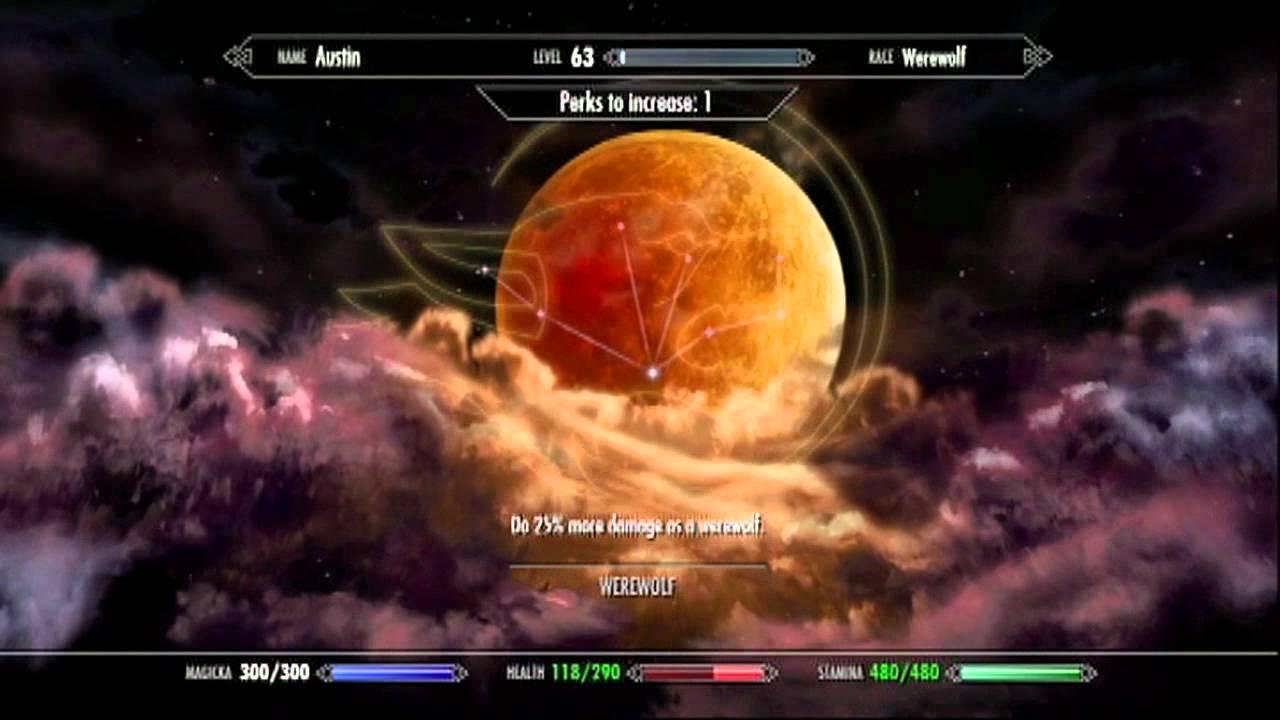 Skyrim DLC Werewolf Pe...