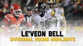 Le'Veon Bell Goes for 170 Yards in AFC Divisional Game | NFL Divisional Player Highlights