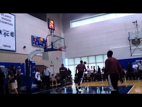 D.J. Stephens of Miami Heat Throws Down Great Dunk