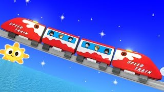 Toy Factory Train - Train Cartoon for Children - Kids Videos for Kids - Toy Train for kids - Trains
