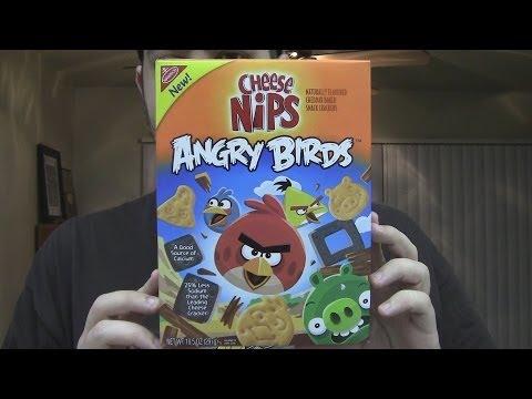 WE Shorts - Cheese Nips Angry Birds