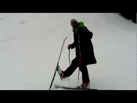 Telemark  3-pin 75mm ski bindings