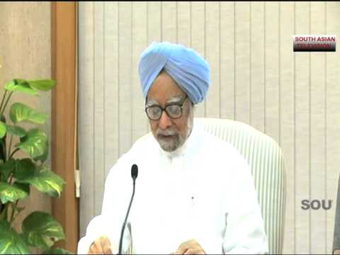 INDIAN PM MANMOHAN SINGH ANNOUNCES EX-GRATIA FOR FLOOD VICTIMS