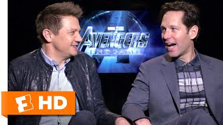 Paul Rudd & Jeremy Renner Consider Swapping Superhero Roles | Avengers: Endgame Cast Interview
