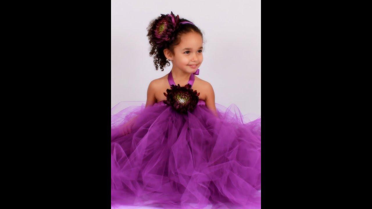 Diy Baby Tutu Dress Purple Tutu Dresses Baby