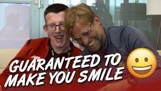 Jürgen Klopp's Make-A-Wish interview with young fan Loyd | Guaranteed to make you smile