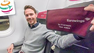 Eurowings BEST (Business) A320 Tripreport | GlobalTraveler.TV