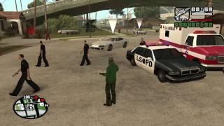 Скачать мод на гта са на работу полицейским