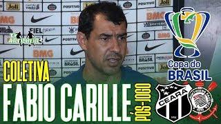 [Copa BR '19] Coletiva Fábio Carille   Pós-jogo Ceará SC 1 X 3 SC Corinthians/SP   TV ARTILHEIRO