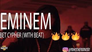 EMINEM BET CYPHER 2017 (DONALD TRUMP DISS) (With A Beat)