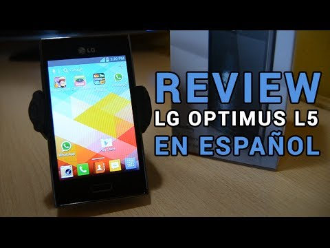 Review LG Optimus L5 E610 E612 en español