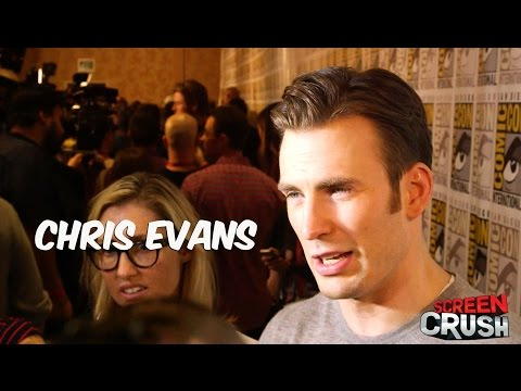 Chris Evans Talks 'Avengers 2' at Comic-Con 2014