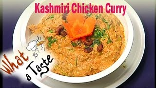 Kashmiri Chicken Curry Recipe || What A Taste || Vanitha TV