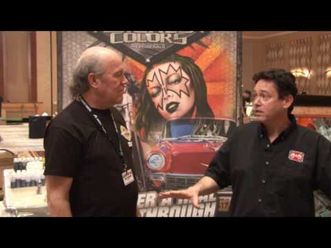 T-Biz TV Cliff Stieglitz/Airbrush Action Interview with Scott Fresener
