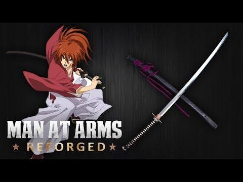 Reverse Blade Katana - Rurouni Kenshin - MAN AT ARMS: REFORGED