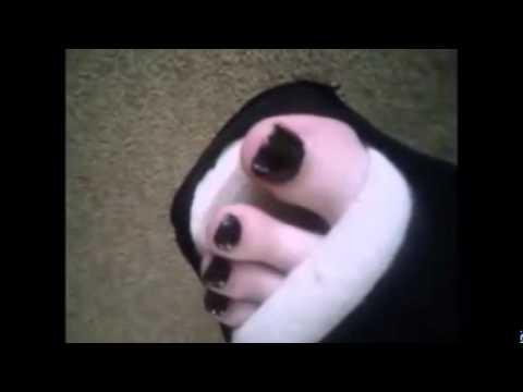 black slwc white sandal