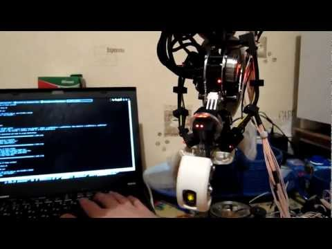 GLaDOS replica - test firmware (WIP)