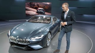 BMW 8 Series Concept - Interview with Adrian van Hooydonk, Head of BMW Group Design