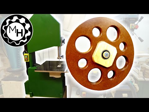 Making Wheels for the Homemade Bandsaw